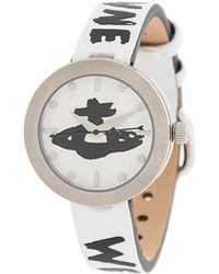 Vivienne Westwood Наручные Часы Orb С Логотипом - Белый