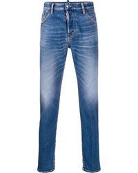 DSquared² Ausgeblichene Jeans - Blau