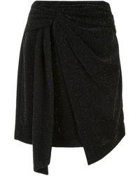 Dondup ドレープ スカート - ブラック