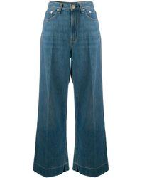 Rag & Bone Ruth High Rise Jeans - Blue