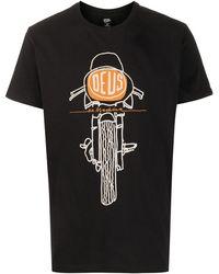 Deus Ex Machina グラフィック Tシャツ - ブラック