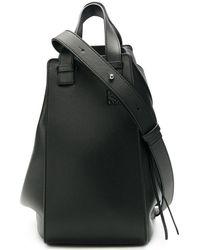 Loewe Сумка На Плечо Hammock Среднего Размера - Черный
