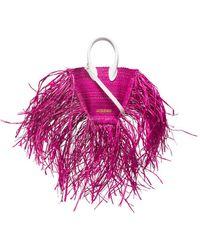 Jacquemus Mini 'Le Petit Baci' Handtasche - Pink