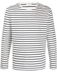 Sandro ストライプ ロングtシャツ - ホワイト