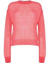Goen.J ライトウェイト セーター - ピンク