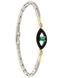 V Jewellery - Emmanuelle Bracelet - Lyst