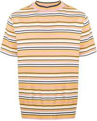 YMC ストライプ Tシャツ - イエロー