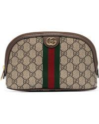 Gucci Большая Косметичка Ophidia GG - Многоцветный