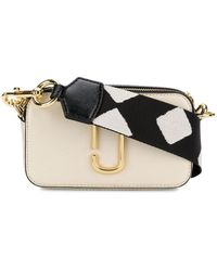 Marc Jacobs The Snapshot Small Camera Bag - Wit
