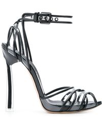 Casadei - Strappy Ankle Sandals - Lyst