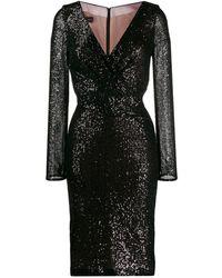 Talbot Runhof Платье Rodigo - Черный