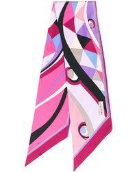 Emilio Pucci Платок С Геометричным Принтом - Многоцветный