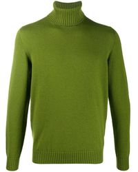 Drumohr タートルネック セーター - グリーン