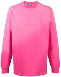DIESEL ロングtシャツ - ピンク