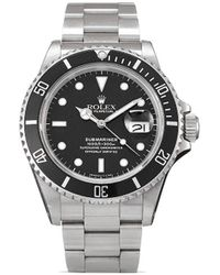 Rolex 1987 Pre-owned Submariner 40mm - Black