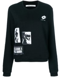 Damir Doma - Graphic Patch Sweatshirt - Lyst