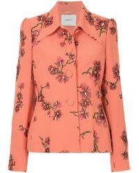 Erdem - Floral Print Suit Jacket - Lyst