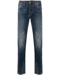 Philipp Plein - Super Straight Cut Jeans - Lyst