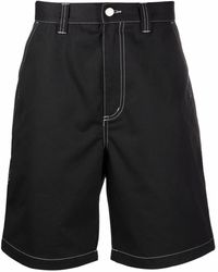Stussy Contrast Stitch Shorts - ブラック