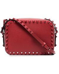 Valentino - Garavani Rockstud Camera Crossbody Bag - Lyst