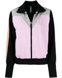 NO KA 'OI Multi-panel Zip-fastening Jacket - Black