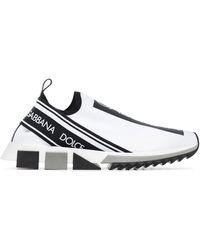 Dolce & Gabbana Слипоны Sorrento - Белый