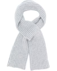 Pringle of Scotland - Ribbed Cross-over Scarf - Lyst