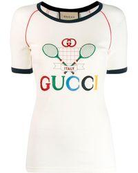 Gucci - テニス Tシャツ - Lyst
