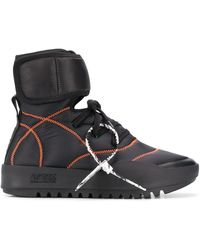 Off-White c/o Virgil Abloh - High-Top-Sneakers - Lyst