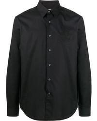 Roberto Cavalli ボタン テーラードシャツ - ブラック