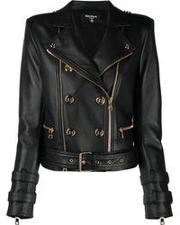 Balmain Куртка На Пуговицах - Черный