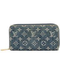 Louis Vuitton Кошелек Zippy С Логотипом Pre-owned - Синий