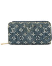 Louis Vuitton Portefeuille Zippy - Bleu