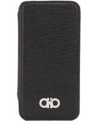 Ferragamo Gancini Iphone Xs Case - Black