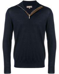 N.Peal Cashmere The Regent セーター - ブルー