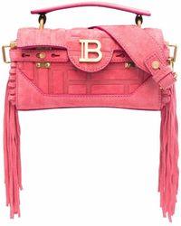 Balmain B-buzz 19 バゲット バッグ - ピンク