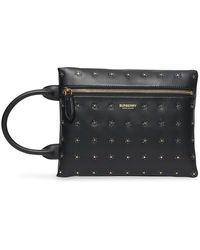 Burberry Studded Pouch - Black