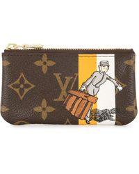 Louis Vuitton - Кошелек Для Монет Cles 2006-го Года - Lyst