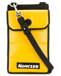 Moncler Logo Phone Case - Black