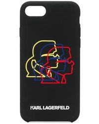 Karl Lagerfeld - Bauhaus Cameo Iphone 8 ケース - Lyst