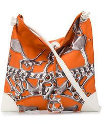Hermès 2011 プレオウンド シティ ショルダーバッグ - オレンジ
