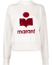 Étoile Isabel Marant - Moby ロゴ スウェットシャツ - Lyst