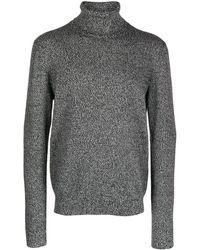 Dolce & Gabbana Кашемировый Джемпер С Высоким Воротником - Серый