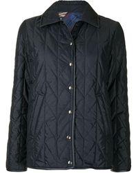 Ferragamo リバーシブル キルティングジャケット - ブルー
