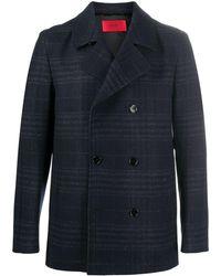 BOSS by Hugo Boss Double-breasted coat - Blau