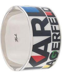 Karl Lagerfeld Браслет В Стиле Колор-блок С Логотипом - Многоцветный