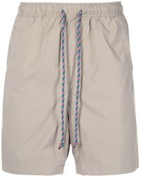Alex Mill Drawstring-waist Track Shorts - Brown
