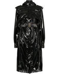 Faith Connexion - Vinyl Belted Trench Coat - Lyst