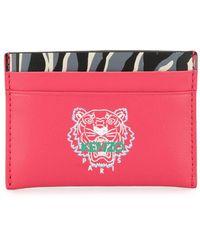 KENZO カードケース - ピンク