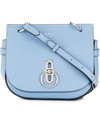 Mulberry Petit sac à bandoulière Amberley - Bleu